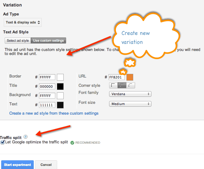 How to A/B Test AdSense Ad Unit From AdSense Dashboard