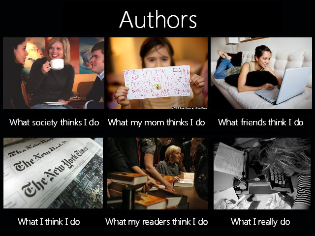Authors meme