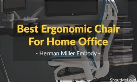 Best Ergonomic Chair For Home Office- Herman Miller Embody