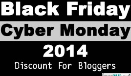 [ Mega Thread] Black Friday/Cyber Monday 2014 Discount For Bloggers