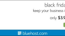 Bluehost Black Friday & Cyber Monday Offer – Biggest Hosting Sale