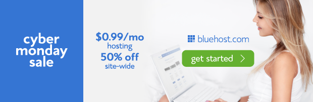 Bluehost Cyber Monday [ Mega Thread] Black Friday/Cyber Monday 2014 Discount For Bloggers