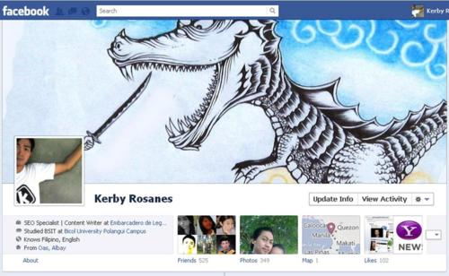 Facebook profile dragon slayer