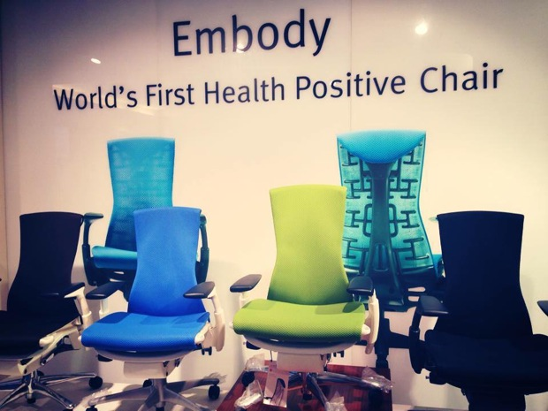 Embody Chair colors Best Ergonomic Chair For Long Sitting   Herman Miller Embody
