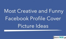 Most Creative and Funny Facebook Profile Cover Picture Ideas