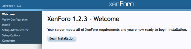 Welcome XenForo