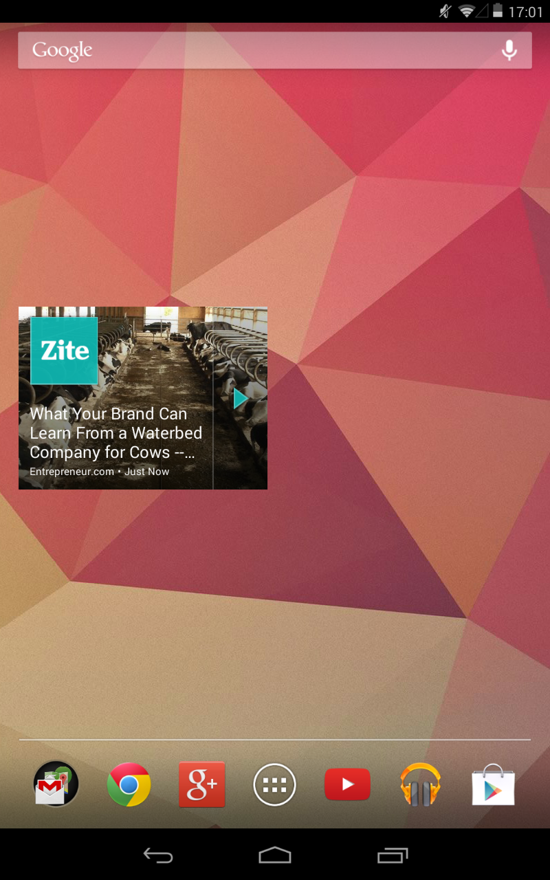 Zite 5 Awesome Android Widgets For Bloggers And Journalists