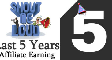 A Blogger's 5 Year Affiliate Earnings For Inspiration: $80410