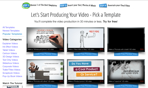 anitmated video templates How To Create Animated Intro Video in 90 Minutes?