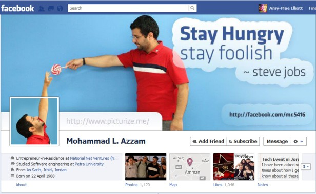 azzam Most Creative and Funny Facebook Profile Cover Picture Ideas