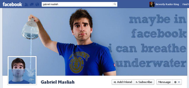 gabriel Most Creative and Funny Facebook Profile Cover Picture Ideas
