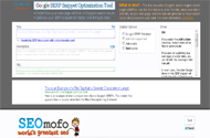 google serp snippet optimization tool Top 50 SEO Tools For Webmasters to Fight Against Google Updates