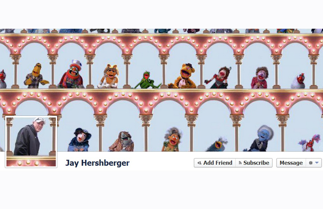 muppet scene Most Creative and Funny Facebook Profile Cover Picture Ideas