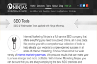 ninjas Top 50 SEO Tools For Webmasters to Fight Against Google Updates
