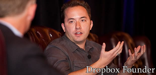 Dropbox was founded by Drew Houston in September 2008.