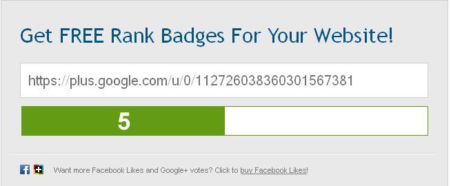Google Profile Page Rank