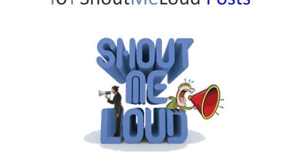 101 ShoutMeLoud Posts