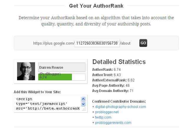 author rank2 A Blogger Guide To Share Something On Google Plus