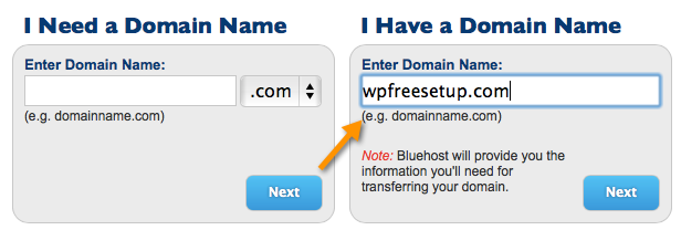 enter domain name Bluehost Hosting Cyber Monday $0.99/Mo Offer Is Live [Grab Now]