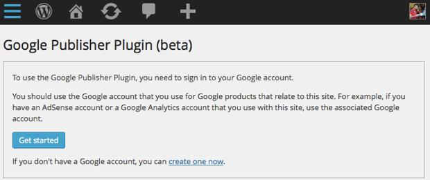 Google AdSense publisher WordPress plugin
