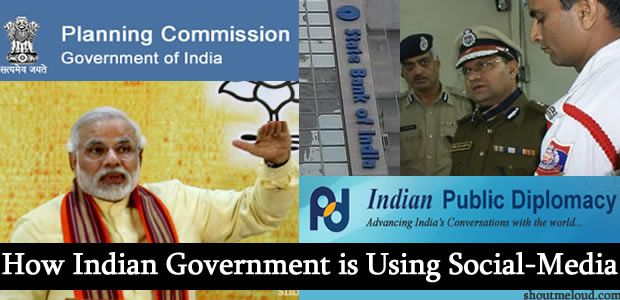 Indian government social media1 How Indian Government is Using Social Media