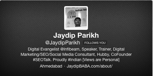 Jaydip Twitter Profile 13 Tried And Tested Tips For Solid Online Personal Brand