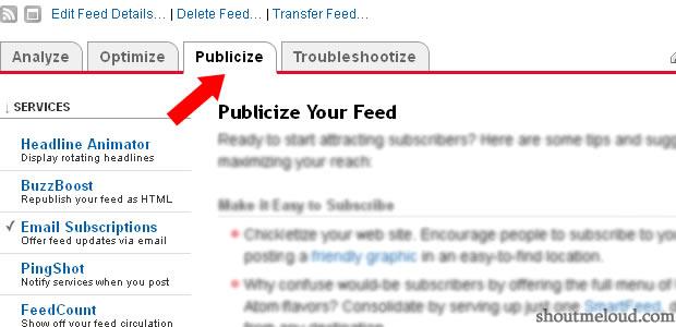 Publicize-feedburner