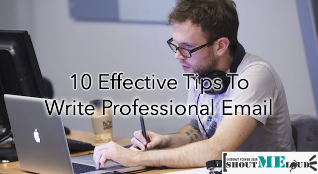 Tips to Write Professional Email