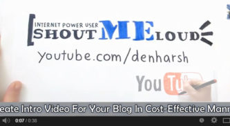 How to Create an Intro Video for Your Blog in a Cost-Effective Manner