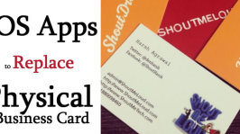 Best iOS Apps to Replace Physical Business Card – Save Paper