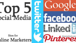 Top 5 Social Media Sites For Online Marketers & Bloggers