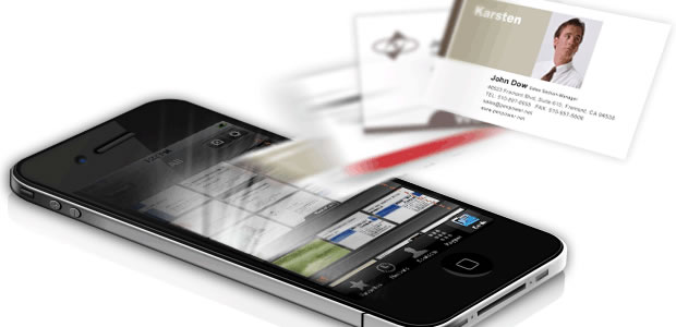 Best ios apps to replace physical business card save paper worldcardlink colourmoves Choice Image