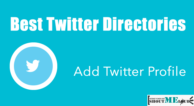 Top Twitter Directories To List YourSelf and Gain Followers