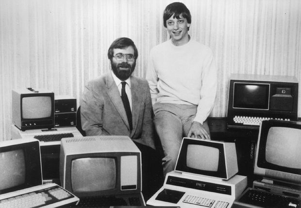 Bill gates and Paul allen Your Other Half : Finding Perfect Co founder For Your Startup