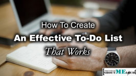 How To Create An Effective To-Do List That Works