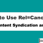 How to Use Rel=Canonical for Content Syndication and SEO