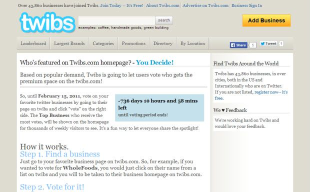 Twibs Top 12 Twitter Directories To List YourSelf and Gain Followers