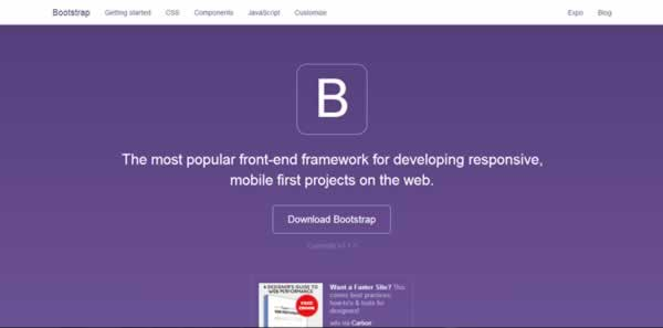 how to start with bootstrap framework