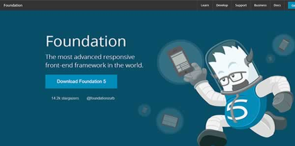 foundation 5 css framework Best CSS Frameworks to create Responsive website design