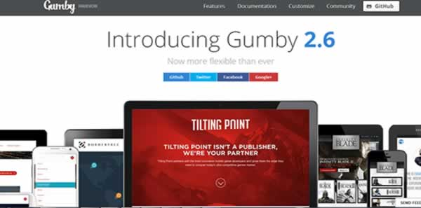 gumby2 css framework Best CSS Frameworks to create Responsive website design