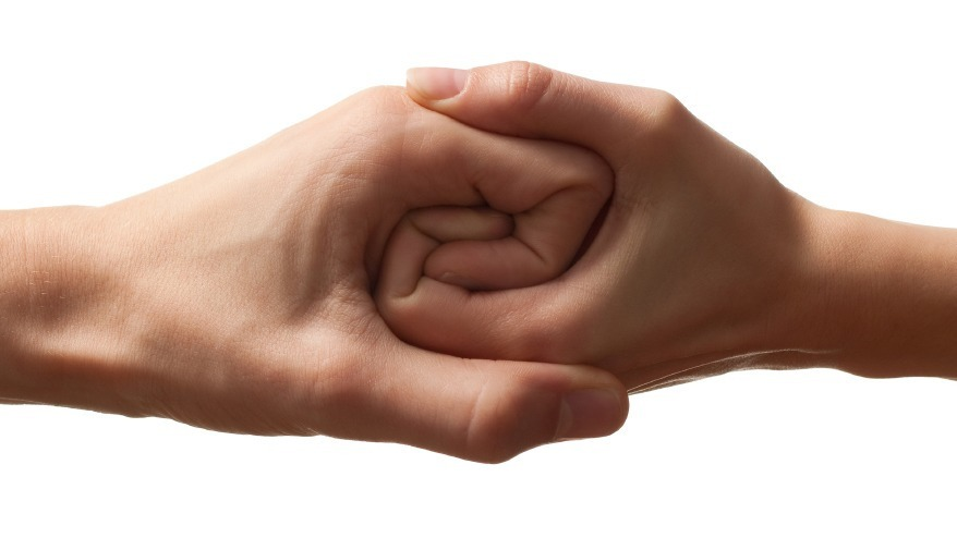 hands complement work together Your Other Half : Finding Perfect Co founder For Your Startup