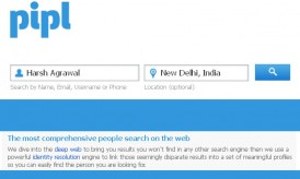 Pipl : A Dedicated Search Engine For Finding People Information