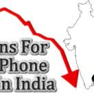 Why iPhone Sales is so Poor in India : Eye Opening Reasons