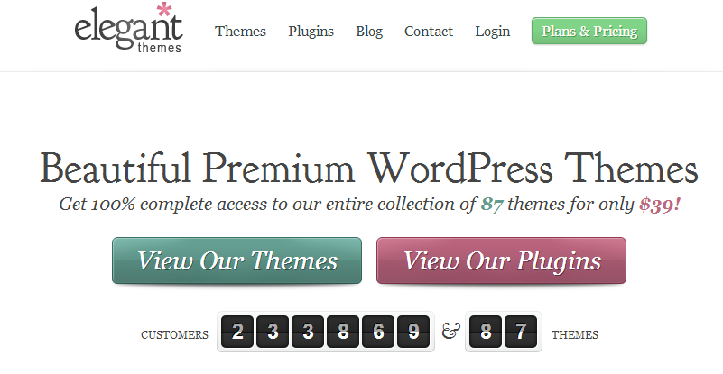 1 Battle Of WordPress Themes:  Elegant themes Vs. Cssigniter Vs. Themify