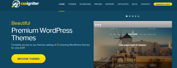 3 Battle Of WordPress Themes:  Elegant themes Vs. Cssigniter Vs. Themify