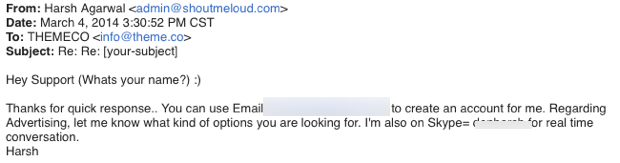Email response How A Single Blog Comment Made $650 For Me & Takeaway For You