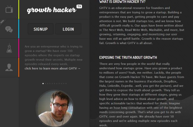 Growth hacker TV