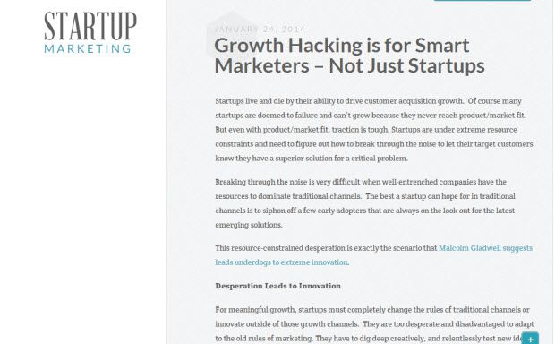 Startup Marketing 5 Growth Hacking Blogs You Must Subscribe To