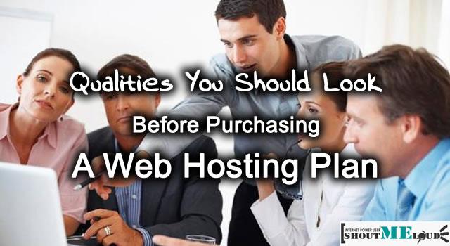 Choose A Web Hosting Plan