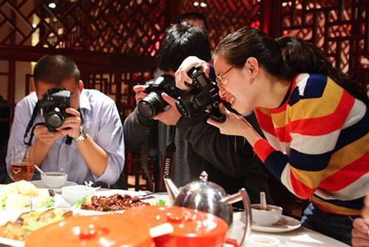 Food blogger Blogging story